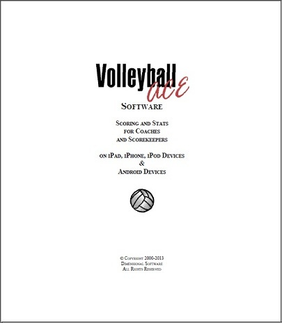 Volleyball ACE and TapRecorder with PracticeStats for Competitive Court Volleyball